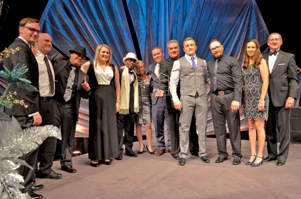 Team photo at the 2015 BOMA TOBY awards ceremony.  Denver Metro BOMA