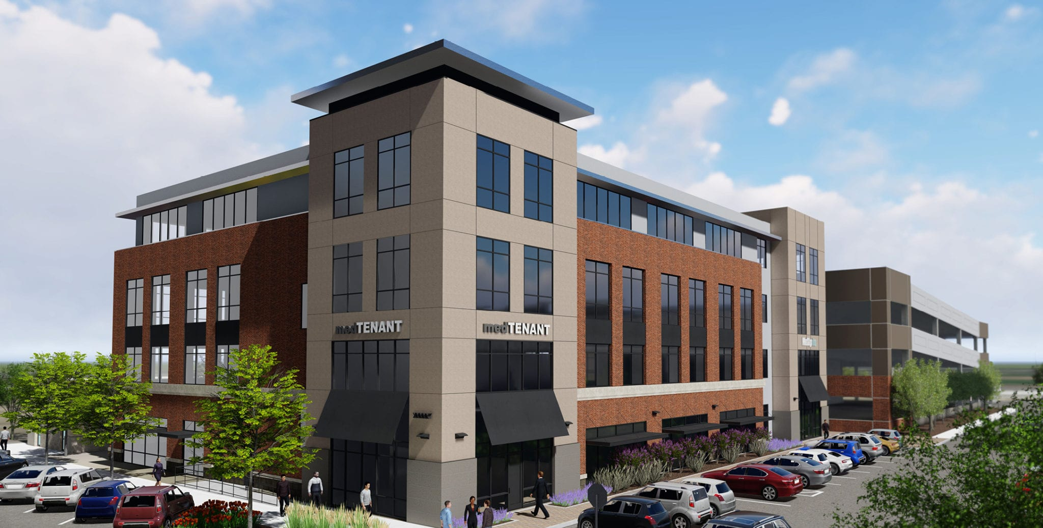 Sawtooth Development Group broke ground April 4 on Superior Medical, a four-story, 60,000-square-foot multitenant medical office building at Three Superior Drive in the Superior Town Center in Superior.