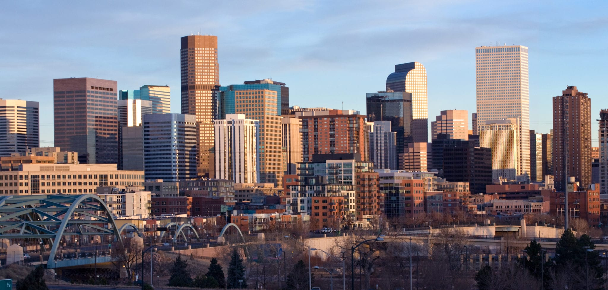 Downtown Denver skyline