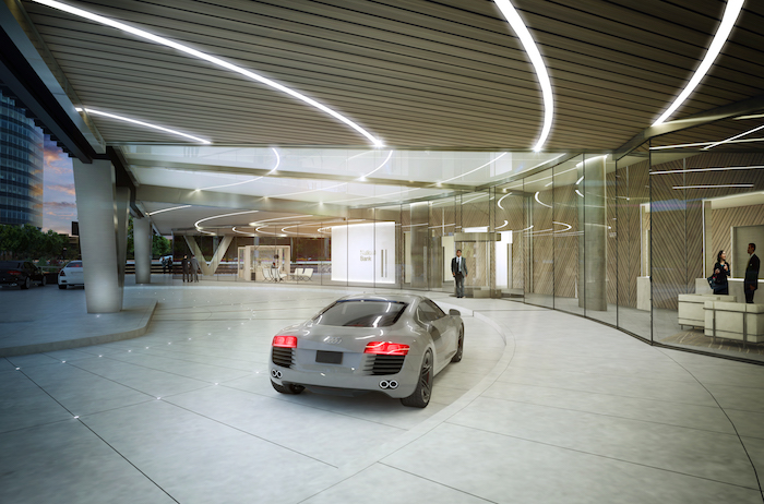 50 fifty porte cochere